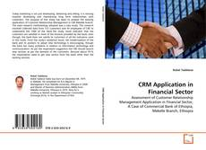 Bookcover of CRM Application in Financial Sector