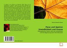 Buchcover von Peras und Apeiron Unendlichkeit und Grenze
