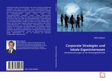 Обложка Corporate Strategies und lokale Eigeninteressen