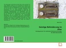Bookcover of Geistige Behinderung im Alter