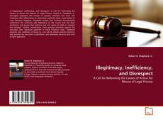 Buchcover von Illegitimacy, Inefficiency, and Disrespect