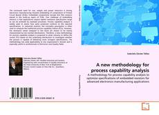 Portada del libro de A new methodology for process capability analysis
