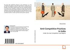 Couverture de Anti-Competitive Practices in India