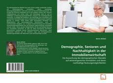 Couverture de Demographie, Senioren und Nachhaltigkeit in der Immobilienwirtschaft