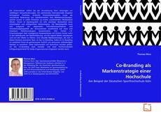 Capa do livro de Co-Branding als Markenstrategie einer Hochschule