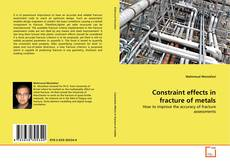 Bookcover of Constraint effects in fracture of metals
