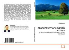 Bookcover of PRODUCTIVITY OF EGYPTIAN CLOVER