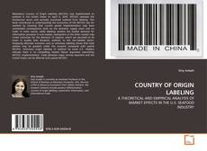 Bookcover of COUNTRY OF ORIGIN LABELING
