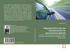 Couverture de Abgasoptimierung von Dieselmotoren im dynamischen Betrieb