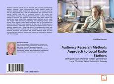 Buchcover von Audience Research Methods Approach to Local Radio Stations