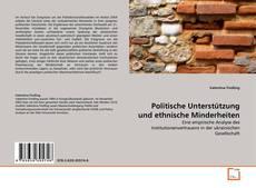 Borítókép a  Politische Unterstützung und ethnische Minderheiten - hoz