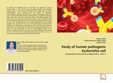 Обложка Study of human pathogenic Escherichia coli