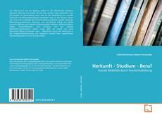 Capa do livro de Herkunft - Studium - Beruf