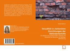 Sexualität in stationären Einrichtungen der Behindertenhilfe kitap kapağı