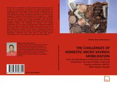 Buchcover von THE CHALLENGES OF DOMESTIC MICRO SAVINGS MOBILIZATION