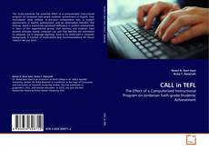 Bookcover of CALL in TEFL