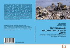 Bookcover of RECYCLING AND RECLAMATION OF SOLID WASTE