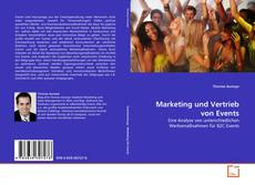 Bookcover of Marketing und Vertrieb von Events