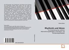 Capa do livro de Rhythmik und Hören