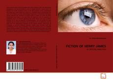 Couverture de FICTION OF HENRY JAMES
