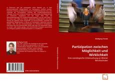 Portada del libro de Partizipation zwischen Möglichkeit und Wirklichkeit