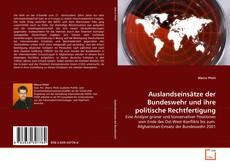 Buchcover von Auslandseinsätze der Bundeswehr und ihre politische Rechtfertigung