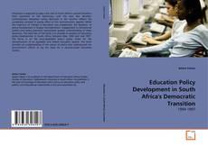 Borítókép a  Education Policy Development in South Africa's Democratic Transition - hoz