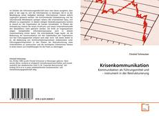 Bookcover of Krisenkommunikation