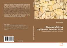 Bookcover of Bürgerschaftliches Engagement in Deutschland