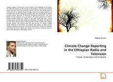 Buchcover von Climate Change Reporting in the Ethiopian Radio and Television