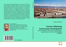 Copertina di Factors Affecting Community Participation