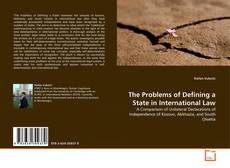 Capa do livro de The Problems of Defining a State in International Law
