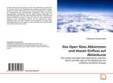 Bookcover of Das Open Skies Abkommen und dessen Einfluss auf Aktienkurse
