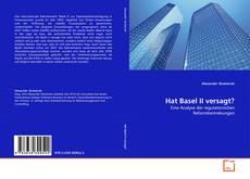 Buchcover von Hat Basel II versagt?