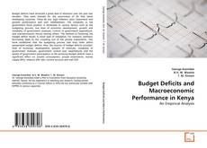 Buchcover von Budget Deficits and Macroeconomic Performance in Kenya