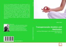 Buchcover von Transpersonale Ansätze und Methoden