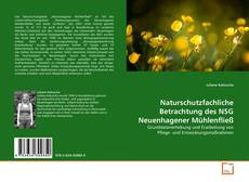 Capa do livro de Naturschutzfachliche Betrachtung des NSG Neuenhagener Mühlenfließ