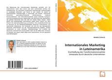 Capa do livro de Internationales Marketing in Lateinamerika