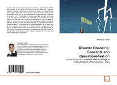 Bookcover of Disaster Financing: Concepts and Operationalisation