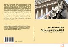 Buchcover von Die französische Verfassungsreform 2008