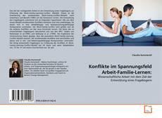 Buchcover von Konflikte im Spannungsfeld Arbeit-Familie-Lernen: