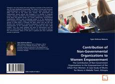 Bookcover of Contribution of Non-Governmental Organizations to Women Empowerment