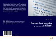 Bookcover of Corporate Governance, Law and Finance