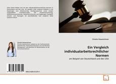 Buchcover von Ein Vergleich individualarbeitsrechtlicher Normen
