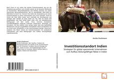 Bookcover of Investitionsstandort Indien
