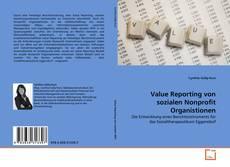 Bookcover of Value Reporting von sozialen Nonprofit Organistionen