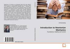 Introduction to Newtonian Mechanics kitap kapağı