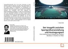 Обложка Der Imagefit zwischen Sportgroßveranstaltung und Austragungsort