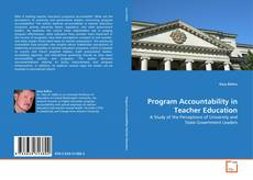 Обложка Program Accountability in Teacher Education
