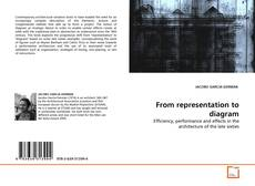 Bookcover of From representation to diagram